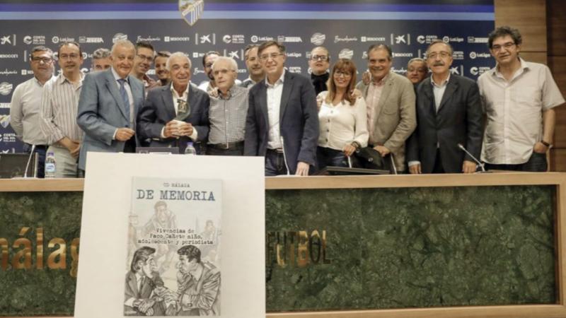 Paco Cañete, el adiós de un Premio Leyenda que fue niño, adolescente y periodista del Málaga
