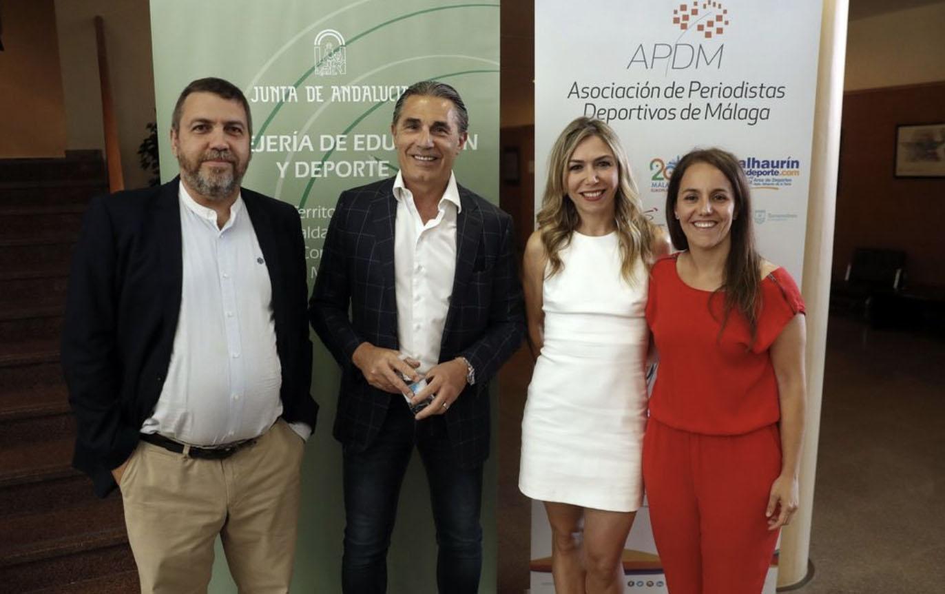 Un emotivo homenaje a Scariolo en Málaga