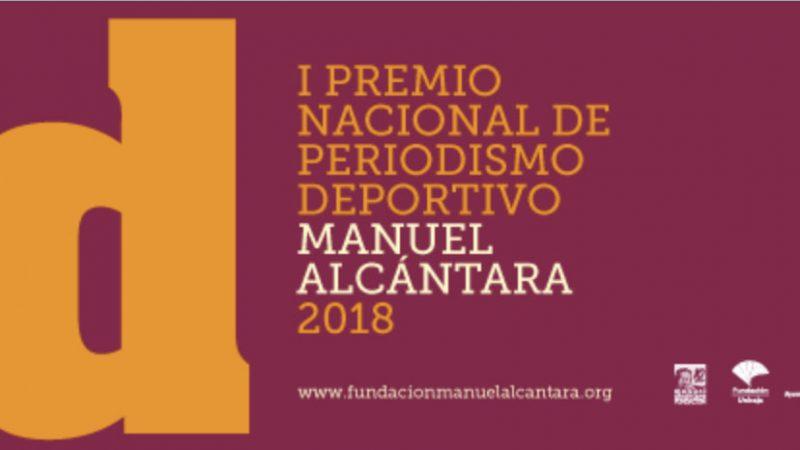 La APDM, colaborador del I Premio Nacional de Periodismo Deportivo Manuel Alcántara