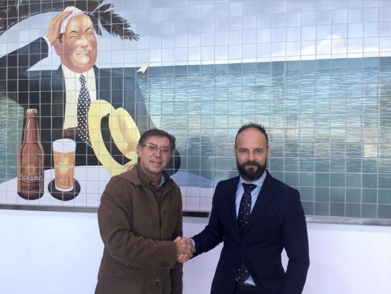 Cerveza Victoria se une como patrocinador al proyecto de la Asociación de Periodistas Deportivos de Málaga