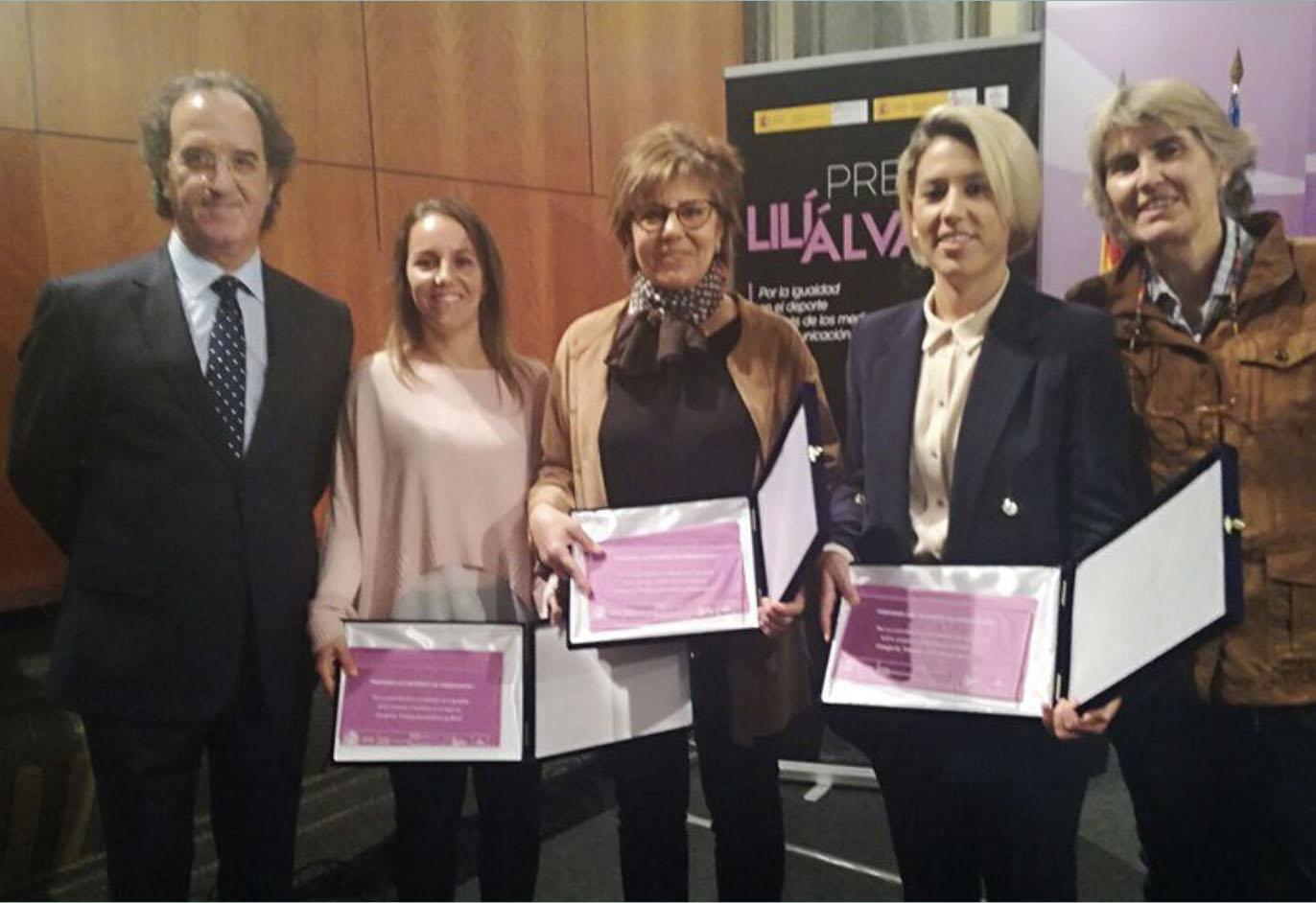 La periodista malagueña Laura Pérez, Premio Lili Álvarez