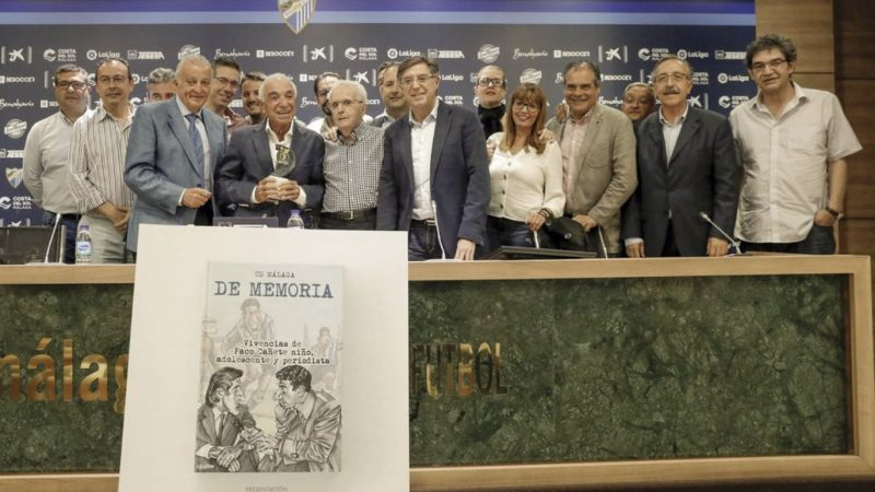 El periodista malagueño Paco Cañete, Trofeo Leyenda de la Asociación Española de la Prensa Deportiva