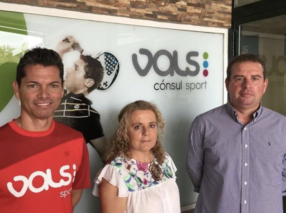 Acuerdo entre los centros deportivos Vals Sports y la Asociación de Periodistas Deportivos de Málaga