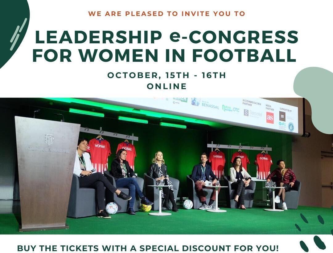 La APDM cierra un acuerdo con el Congreso Internacional de Liderazgo de la Mujer en el Fútbol para que los periodistas deportivos asociados puedan participar a mitad de precio