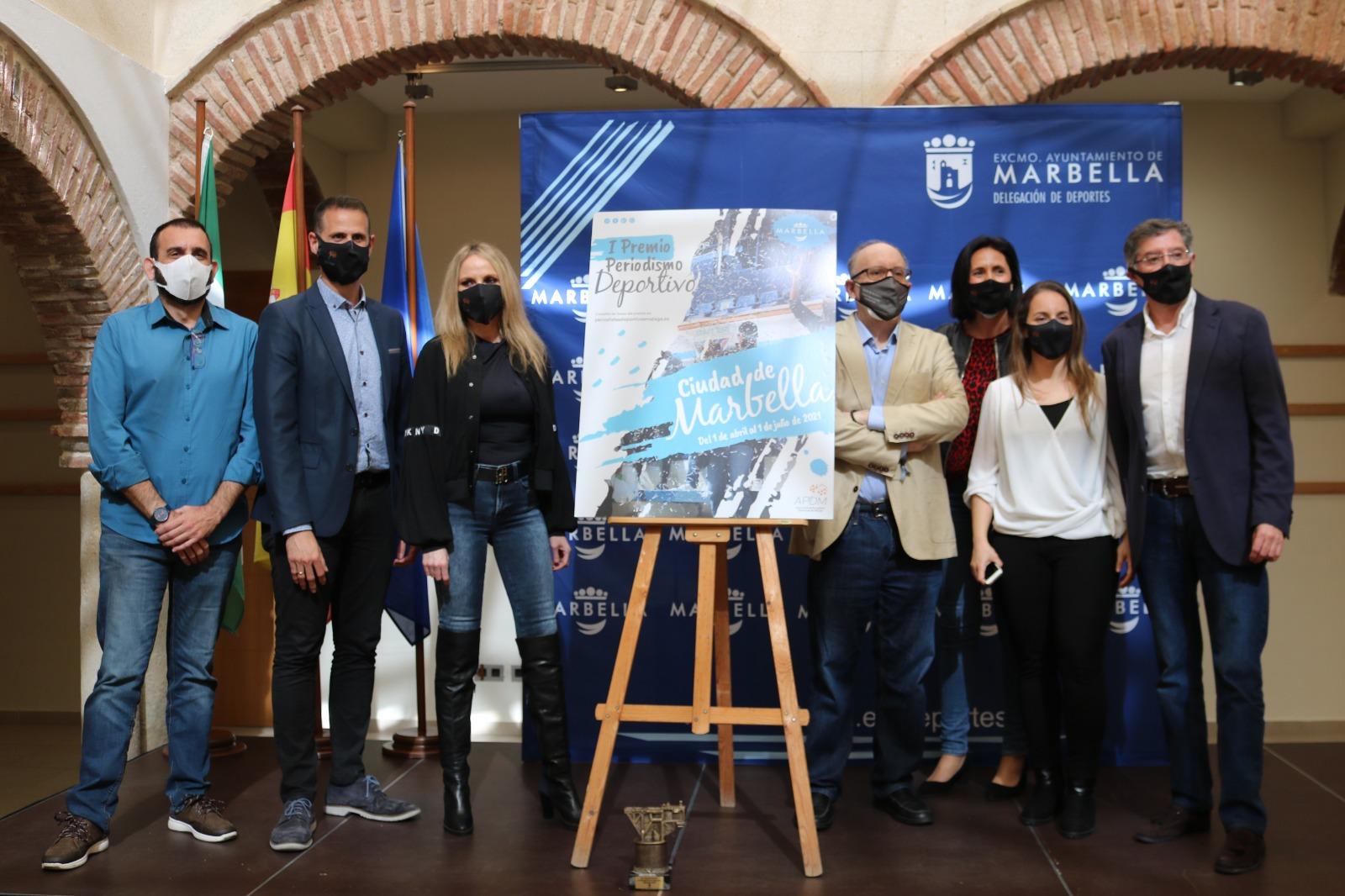 Nace el I Premio de Periodismo Deportivo Ciudad de Marbella organizado por la APDM