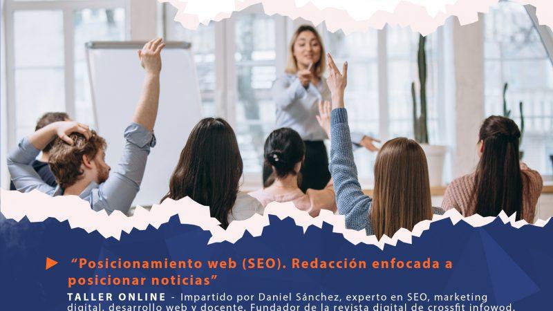 Talleres sobre posicionamiento web (SEO), actualización de redes sociales y responsabilidad social para la inclusión